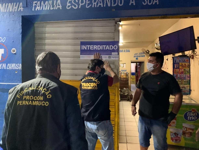 Primeiro fim de semana de restrições mais rígidas em Pernambuco tem 23 autuações e 5 interdições