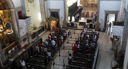 Corpus Christi, Quinta-feira (03). Igreja Matriz Nossa Senhora do Carmo.