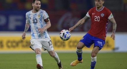 Argentina e Chile empataram pelas Eliminatórias