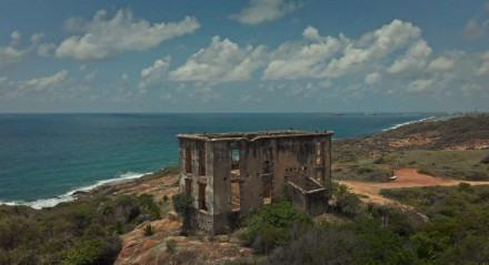 A casa do faroleiro é uma das construções históricas do Cabo de Santo Agostinho