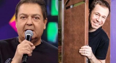 Faustão se recupera de infecção urinária e Tiago Leifert vai apresentar 'Domingão' no próximo domingo (13)