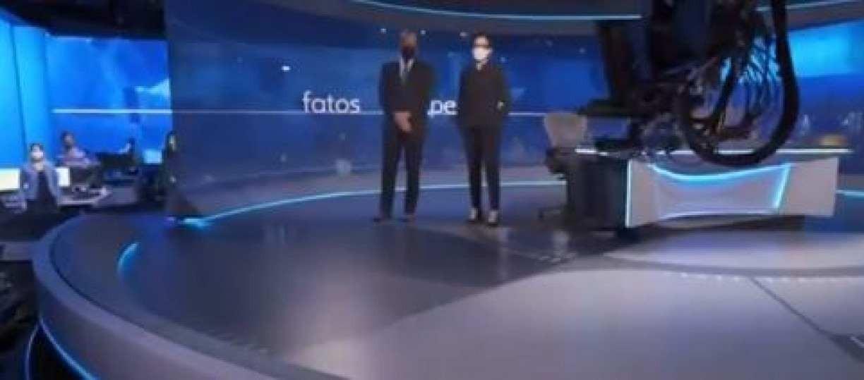 Campanha da Globo enaltece jornalistas, mostrando momentos da intimidade dos profissionais