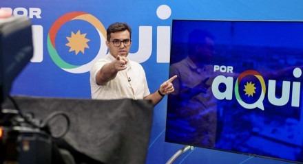 Fábio Araújo apresenta o novo Por Aqui