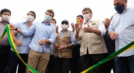 Ministro Tarcísio Freitas inaugura viaduto em Petrolina nesta segunda-feira (14)
