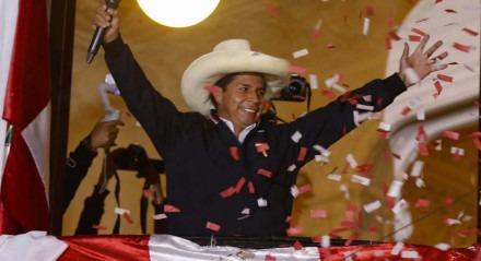 Pedro Castillo, candidato à presidência do Peru