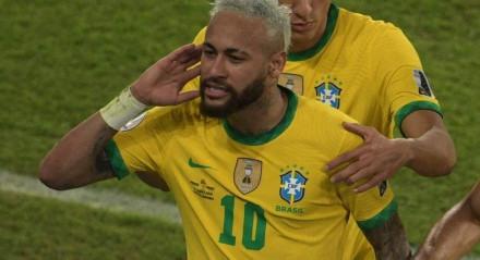 Mais uma vez, Neymar brilhou pela seleção brasileira