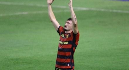 Sander marcou o gol da vitória do Sport em cima do Grêmio