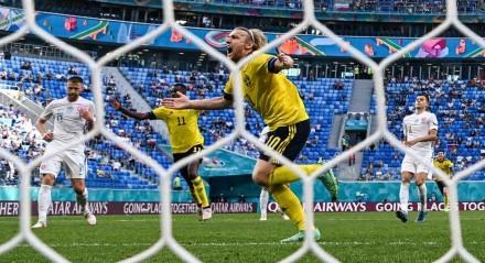 A Suécia venceu a Eslováquia por 2x0.