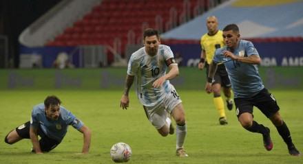 Lionel Messi – Argentina x Uruguai