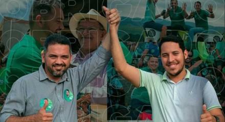Prefeito e vice-prefeito de Maraial