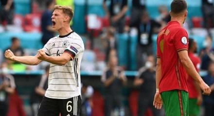 A vitória alemã teve dois gols contra de Portugal.