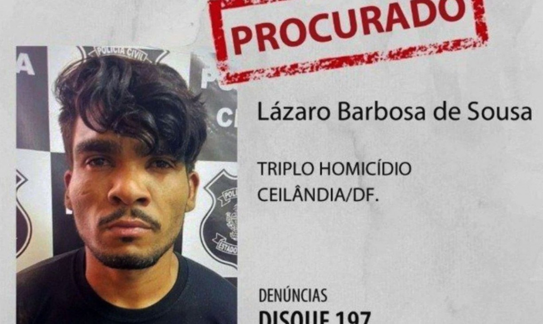 Lázaro Barbosa foi preso? Onde está o 'serial killer de Brasília'?