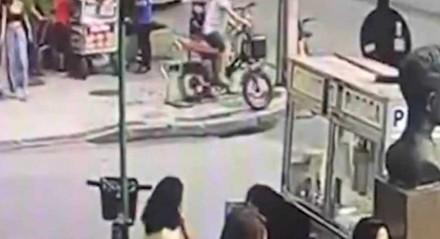 O crime aconteceu na tarde do dia 12 de junho, na Avenida Afrânio de Melo Franco