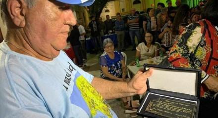 Bráulio de Castro, homenageado pela prefeitura de Bom Jardim