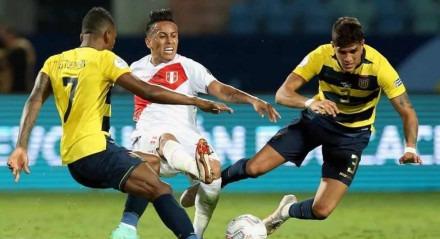 Com erro de Arboleda, Equador cede empate ao Peru na Copa América