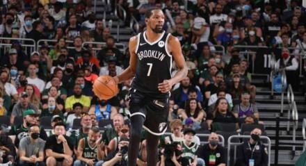 Kevin Durant é a principal estrela do Brooklyn Nets