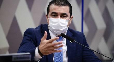 deputado federal Luis Miranda (DEM-DF), na CPI a covid