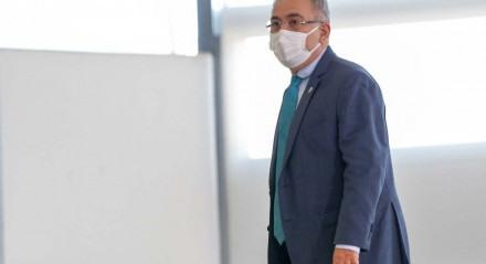 Marcelo Queiroga, ministro da Saúde Foto: Walterson Rosa/MS
