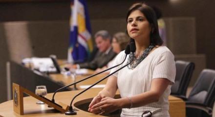 A deputada estadual Priscila Krause (DEM)