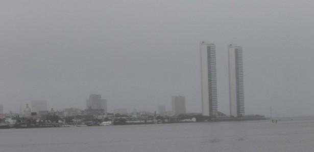 Feriado de Nossa Senhora do Carmo, padroeira do Recife, com chuva