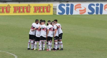 Jogo entre o Santa Cruz (PE) e o Tombense (MG). Partida valida pelo Campeonato Brasileiro Série D , realizada no Estádio no estádio do Arruda, em Recife (PE), na neste sábado, 17 de julho de 2021.