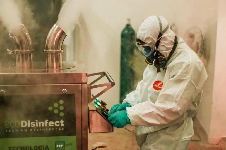 Tecnologia é aliada na desinfecção de casas e empresas para controle de vírus, fungos e bactérias