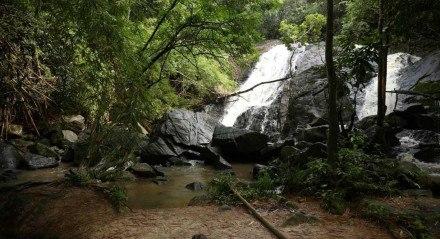 A Cachoeira de Saltinho, também conhecida como Bulha D'água, é uma das surpresas mostradas no programa Cores e Sabores de Tamandaré