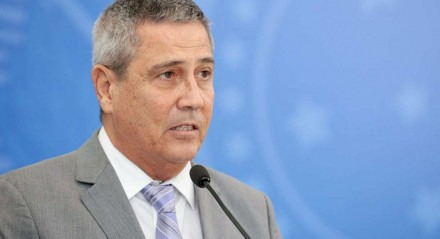 (Brasília - DF, 07/04/2020) General Braga Netto, ministro da Defesa. Foto: Carolina Antunes/PR