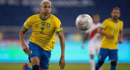 Richarlyson comandou a vitória do Brasil contra a Alemanha na estreia das Olimpíadas de Tóquio.