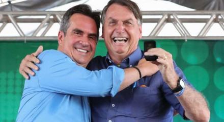 Ciro Nogueira e Jair Bolsonaro