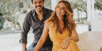 Marcelo Bimbi e Nicole Bahls na casa de campo