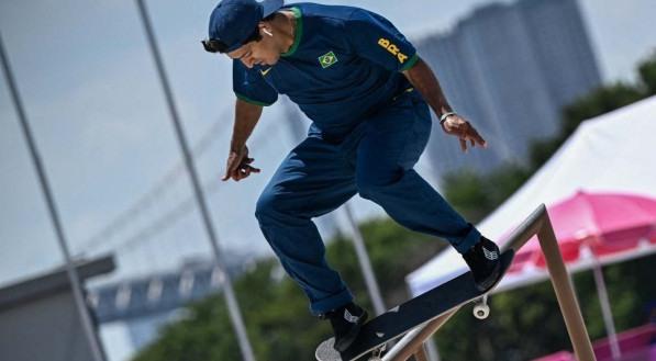 Kelvin Hoefler conquistou a medalha de prata, a primeira do Brasil em Tóquio