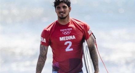 Brasileiro é bicampeão mundial de surfe, mas não conseguiu repetir o bom desempenho em Tóquio.