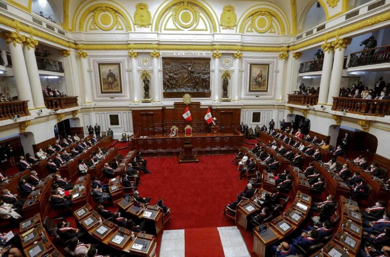 HANDOUT / PERUVIAN PRESIDENCY / AFP