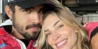 O casal Caio Castro e Grazi Massafera