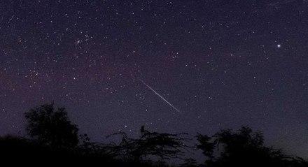 Os meteoros poderão ser vistos em todas as regiões do Brasil
