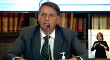Bolsonaro em transmissão ao vivo nesta quinta-feira (29)