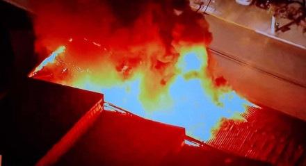 Incêndio na Cinemateca Brasileira, em São Paulo, foi notificado por volta das 18h desta quinta-feira (29)