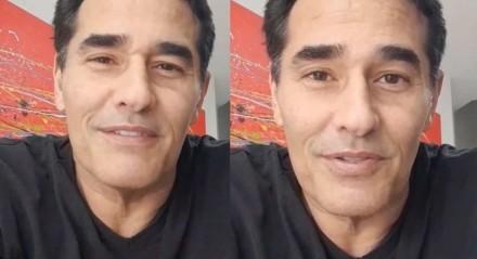 Luciano Szafir gravou vídeo sobre recuperação da Covid-19 e agradeceu fãs