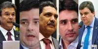 André de Paula, Eduardo da Fonte, João Paulo, Silvio Costa Filho e Wolney Queiroz