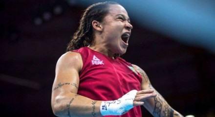 Baiana vem construindo carreira vitoriosa no boxe olímpico.
