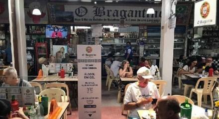 O restaurante O Bragantino