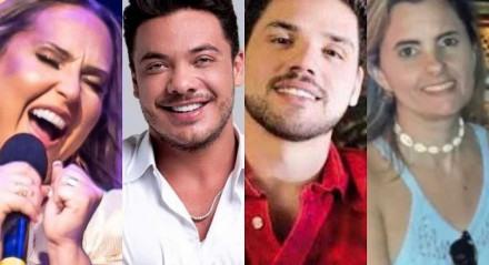 A cantora Giselle Café, o cantor Wesley Safadão, o produtor musical Dudu Borges e a compositora Yoná Torres são nomes envolvido nesse caso de Justiça