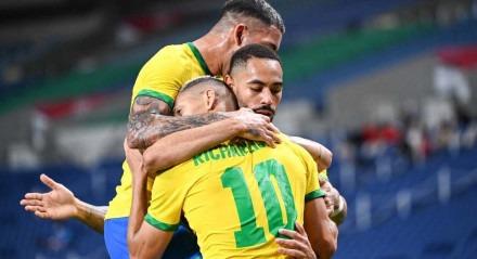 Brasil enfrentou o Egito pelas quartas de final da Olimpíada de Tóquio 2020 e venceu