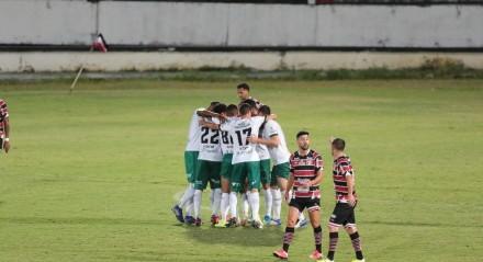 Jogo entre o Santa Cruz (PE) e o Manaus (AM). Partida valida pelo Campeonato Brasileiro Série C , realizada no estádio do Arruda, em Recife (PE),  neste domingo, 01 de agosto de 2021.