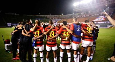 O Sport venceu por 1x0  Bahia, nesse domingo, no estádio Pituaçu, em Salvador