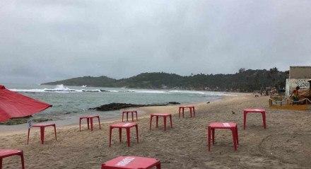 O crime aconteceu na praia de Gaibu, no Cabo de Santo Agostinho