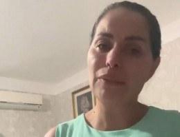 A cantora de forró Walkyria Santos chora morte de filho de 16 anos