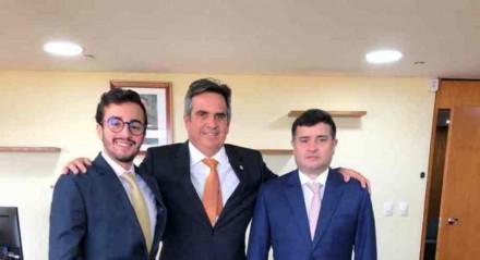 Em Brasília, Eduardo da Fonte e Lula da Fonte se reúnem com o Ministro Ciro Nogueira e discutem novos investimentos para Pernambuco