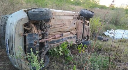 O acidente aconteceu no município de Serra Talhada